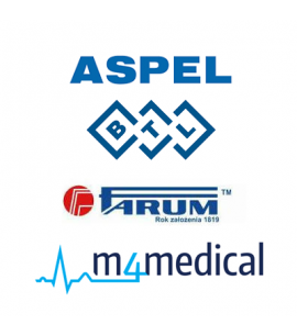 Kable do elektrokardiografów ASPEL BTL FARUM M4Medical