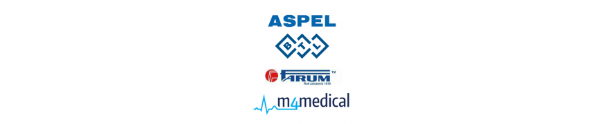 Kable do elektrokardiografów ASPEL BTL FARUM M4Medical Schiller