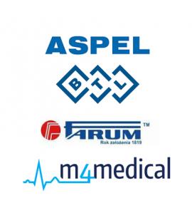 Kable do elektrokardiografów ASPEL BTL FARUM M4Medical Schiller